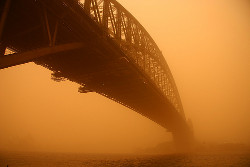 Red Dust Bridge. Image by Ian Sanderson. CC BY-NC-ND 2.0